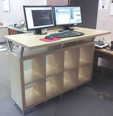 Ikea Stand Up Desk by Desk Stand Up Desk Ikea Within Staggering A Stand Up Desk Ikea