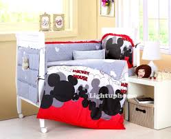 Baby Dinosaur Crib Bedding by Bedroom Excellent Mickey Mouse Crib Bedding For Cute Bedroom The