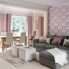 Pink And Grey Living Room Shophouse Design Pretty And PINK - Pink living room design