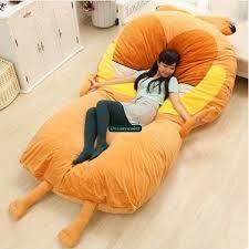 giant bean bag sofa online shop dorimytrader 220cm x 150cm giant soft anime garfield