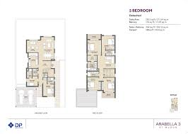 phase 3 five bedroom townhouse floor plan