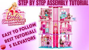 Diy Dream Home by How To Assemble The Barbie Dreamhouse Tutorial From Mattel Diy