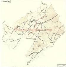 China Rivers Map by Map Of Liaohe River China Maps China Destinations China Tour