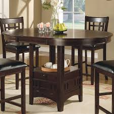 Coaster Dining Room Furniture Shop Coaster Fine Furniture Lavon Wood Extending Counter Table At