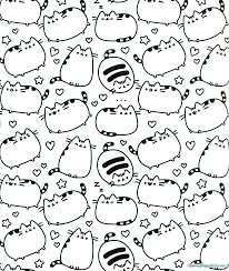 pusheen coloring pages colotring pages