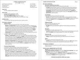 Sle Resume Of Child Caregiver Childcare Resume Exles Exles Of Resumes