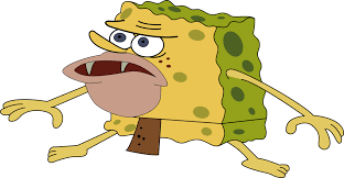 Spongbob Meme - image primitive sponge spongegar caveman spongebob meme by