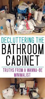 bathroom cabinet organization ideas organizing the bathroom cupboard facing the the sink