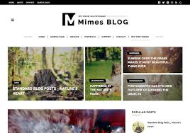 mimes blog photography blogger template 2015 free