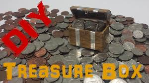 diy how to make mini treasure chest youtube