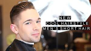 cool new hairstyle men u0027s short haircut 2016 modern crew cut