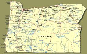 map of oregon showing madras show me oregon