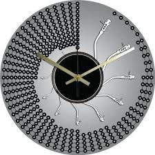 pendule originale pour cuisine modern horloge cuisine moderne id es salon for pendule de