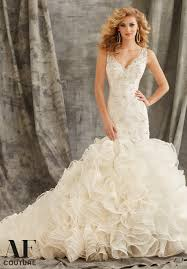 morilee bridal crystal beading on alencon lace with metallic