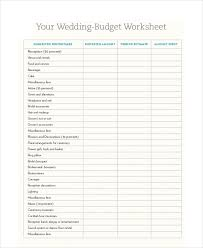 free budgets templates free budget template 10 free pdf word excel download