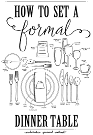 Setting Formal Dinner Table Is Hosting A Classic Dinner Party Worth The Fuss