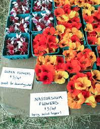 edible flowers for sale edible flowers for sale at the farmer s market by carolyn