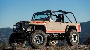 jeep scrambler 4 door we drive the legacy scrambler the six figure jeep autoweek