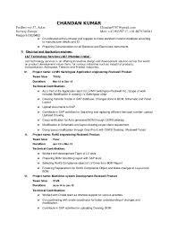 Detailed Resume Template Detailed Resume Template