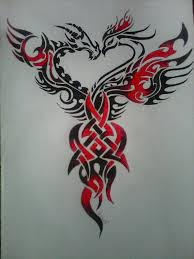 picture element for free obtain phoenix tattoos design 6430 with
