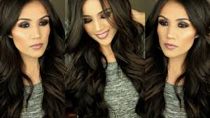 glamorous hair extensions easy bouncy glamorous curls i hair tutorial