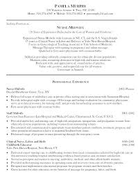 nursing resume objective resume sle mattbruns me