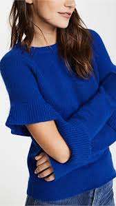 sleeve sweater endless sweater with sleeve ruffle detail shopbop