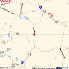 map of oregon nevada a motel map
