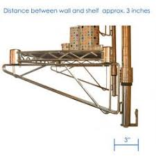 Wall Mounted Wire Shelving 8