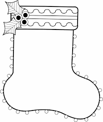 teddy bear christmas stockings coloring pages christmas