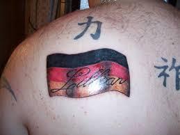 rebel flag tattoo design for men on back tattoomagz