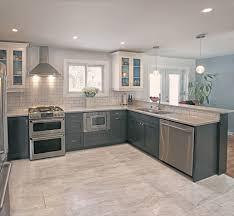 confortable carrelage cuisine mur couleur cuisine avec carrelage