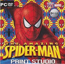 amazon amazing spider man print studio pc dvd rom