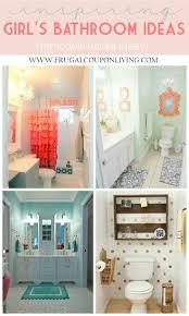 Teenage Bathroom Themes Girls Bathroom Ideas House Living Room Design