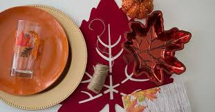 gobble up this thanksgiving place setting idea the dollar tree