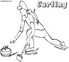 curling coloring pages coloring pages to download and print