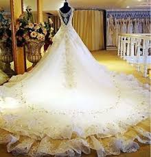 bridal gown luxury royal wedding dress for bridal gown with cathedral
