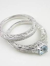 vintage filigree wedding bands vintage style wedding ring with infinity motif rg 2814wbag