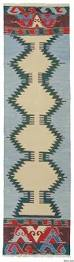 Green Runner Rug New Tribal Traditional Kilim Rugs Kilim Rugs Overdyed Vintage