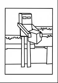 brilliant minecraft enderman coloring pages with minecraft