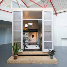 Home Video Studio by The Shed Project Offers Micro Homes Inside Vacant London Properties