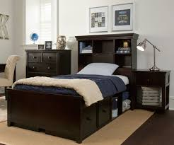 Boston Bedroom Furniture Set Craft Furniture Boston Twin Size Bookcase Bed With Drawer And