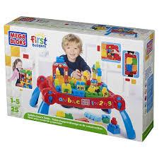 mega bloks table toys r us babies r us mega bloks first builders maxi table 3 en 1