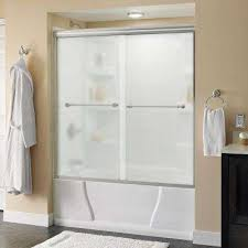 glass bathtub for sale frosted bathtub doors bathtubs the home depot