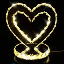 Heart Shaped Items Discount Heart Shaped Crystal Lamps 2017 Heart Shaped Crystal