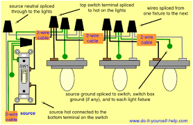 wiring diagram for multiple light fixtures kitchen premodel