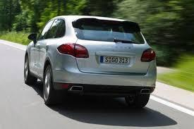 porsche cayenne fuel economy porsche cayenne diesel debuts at the york auto u s