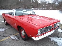 1970 Cuda Interior 1968 Plymouth Cuda Convertible Matador Red Exterior With Black