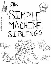 items similar to simple machines coloring pages on etsy with