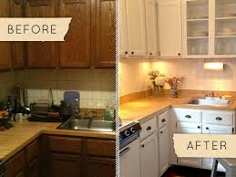 rental kitchen ideas before after a drab kitchen gets a one day makeover design sponge